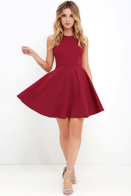 21 Feminine Skater Dress Outfit Ideas For Summer