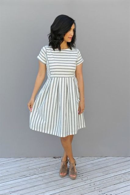 21 Amazing Striped Dress Ideas For Summer Styleoholic
