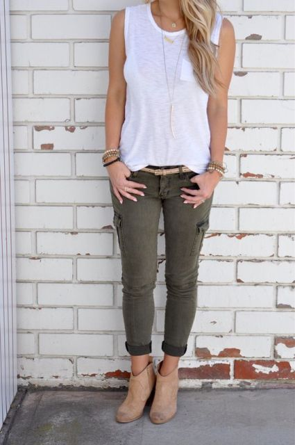 Cargo Pants Women Outfits With Perfect Styles u2013 playzoa.com
