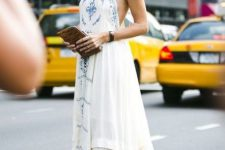 Summer dress and lace up espadrilles