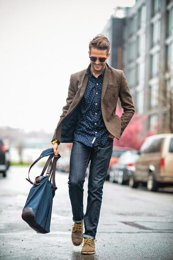 In Nasty Weather With Style 28 Rainy Day Men Outfits