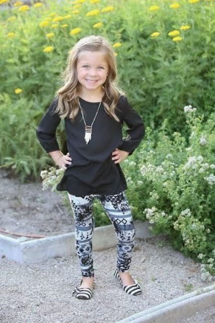 27 Chic Fall Outfits For Little Girls - Styleoholic