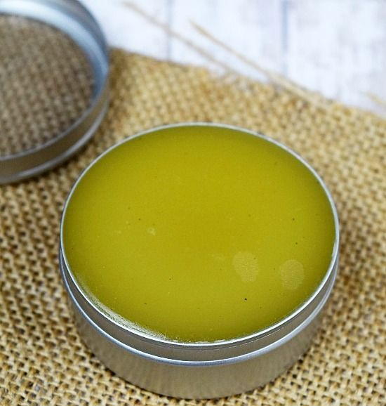 make natural herb salves if your hands are damaged