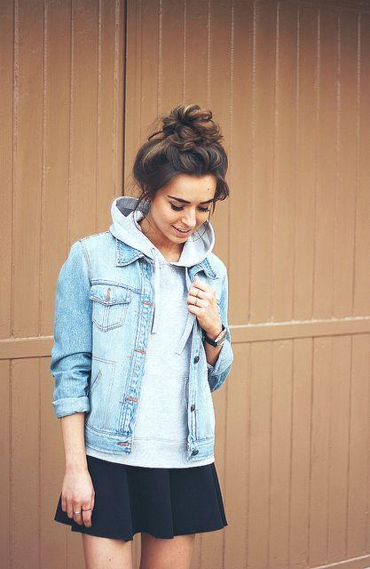 24 Stylish Fall Looks With A Denim Jacket - Styleoholic