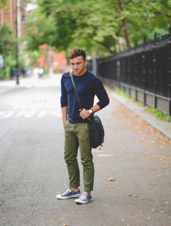 24 Comfy Fall Converse Outfits For Men Styleoholic