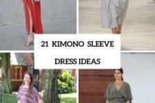 21 Adorable Kimono Sleeve Dress Ideas To Try