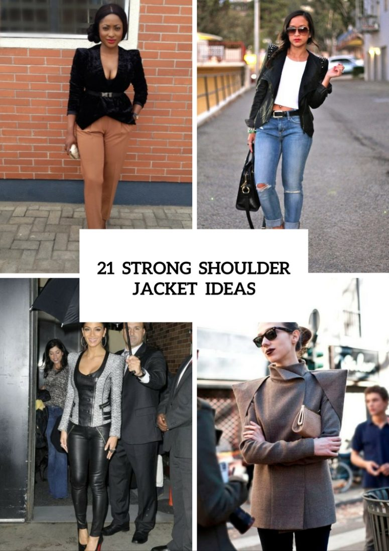 21 Shoulderpad Jacket Outfits For This Fall