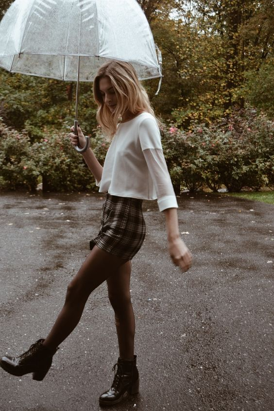 24 Cute Outfits For Fall Rainy Days recommend