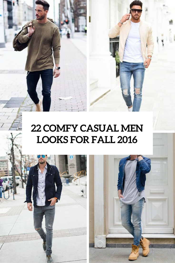 b2f3b09417 22 Comfy Casual Men Looks For Fall 2016 - Styleoholic