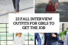 23 fall interview outfits for girls to get the job cover