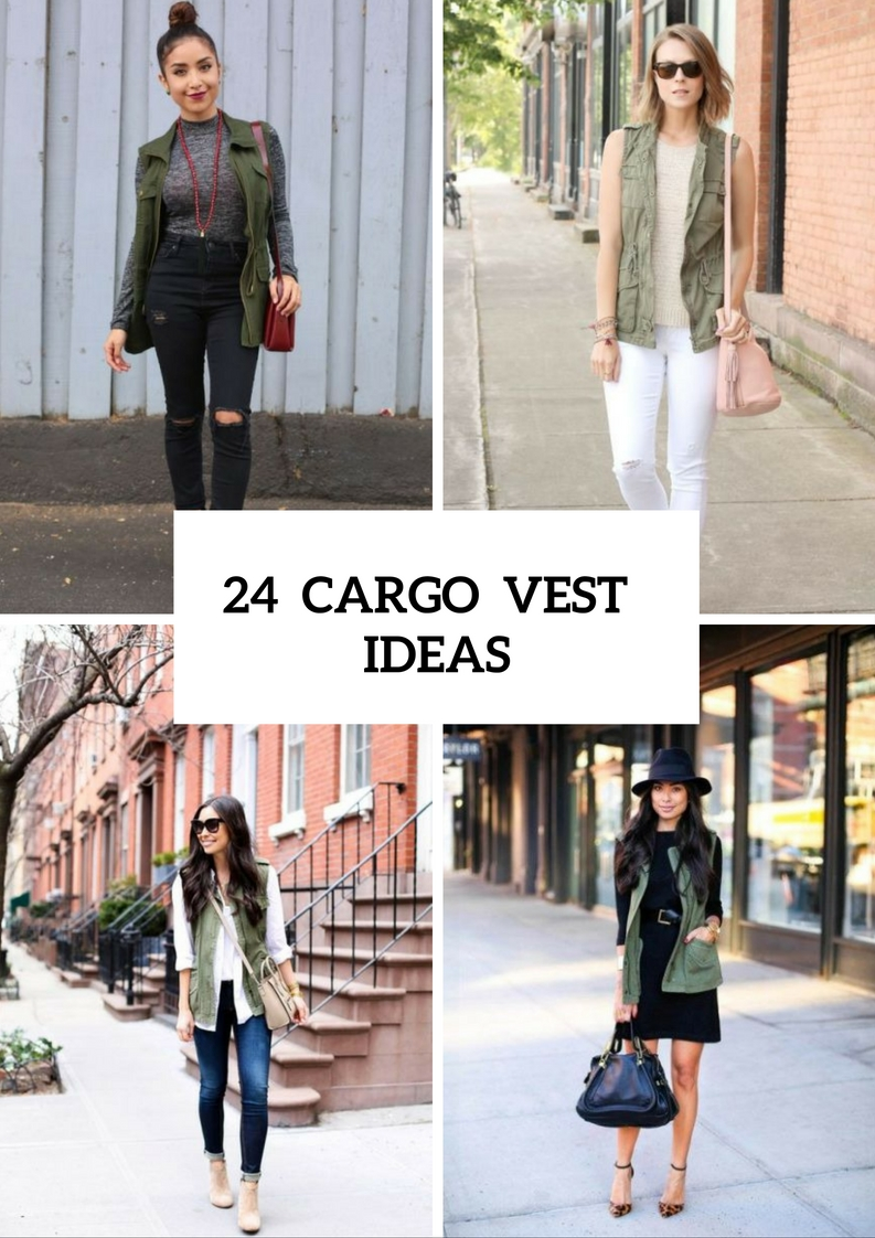 Fashionable Outfits With Cargo Vests