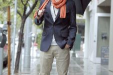early fall men outfit