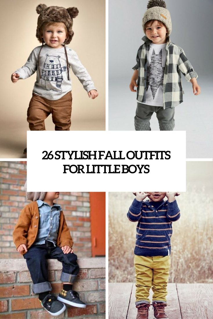 26 Stylish Fall Outfits For Little Boys