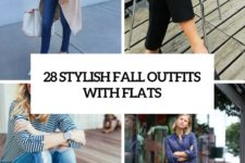 28 stylish fall outfits with flats cover