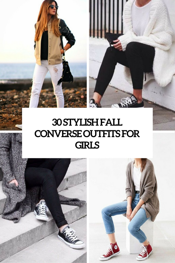 30 Stylish Fall Converse Outfits For Girls