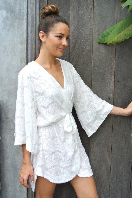 21 Adorable Kimono Sleeve Dress Ideas To Try forecasting