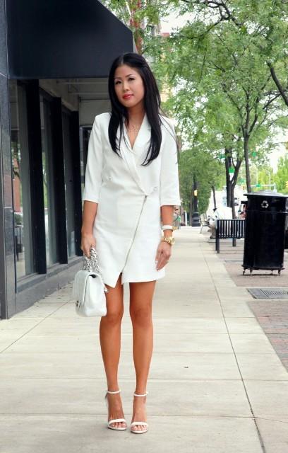 22 Sexy Blazer Dress Outfits For Stylish Girls