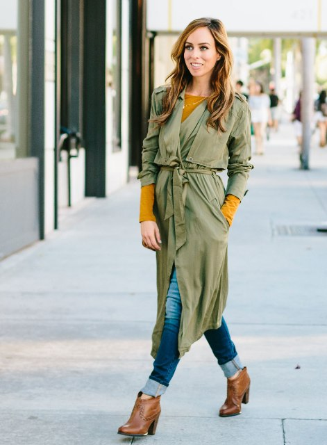 22 Fashionable Duster Coat Outfits Styleoholic