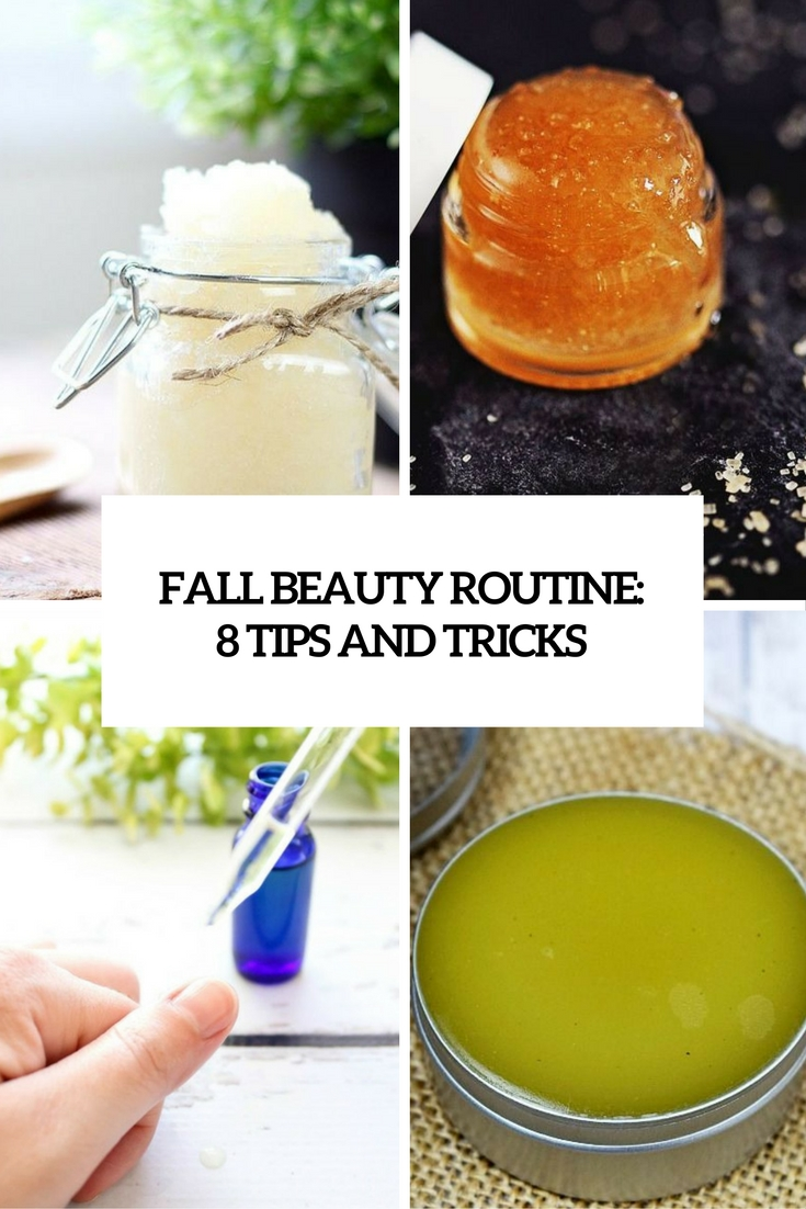 fall beauty routine 8 tips and tricks cover