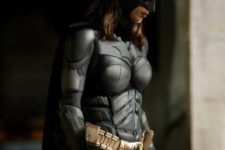 02 Batman girl look with a mask