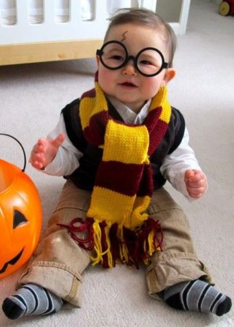adorable Harry Potter boy's costume