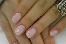 02 blush nails look romantic and can fit any occasion