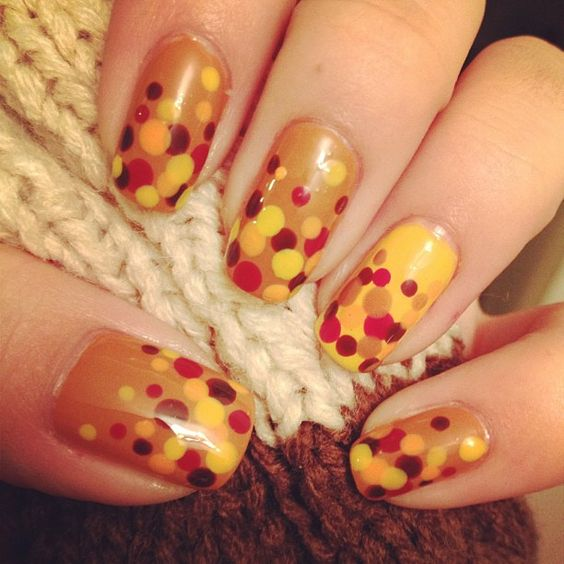 29 Cozy And Eye Catchy Thanksgiving Nails Ideas Styleoholic