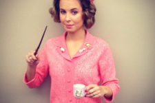 03 Dolores Umbridge outfit in all pink
