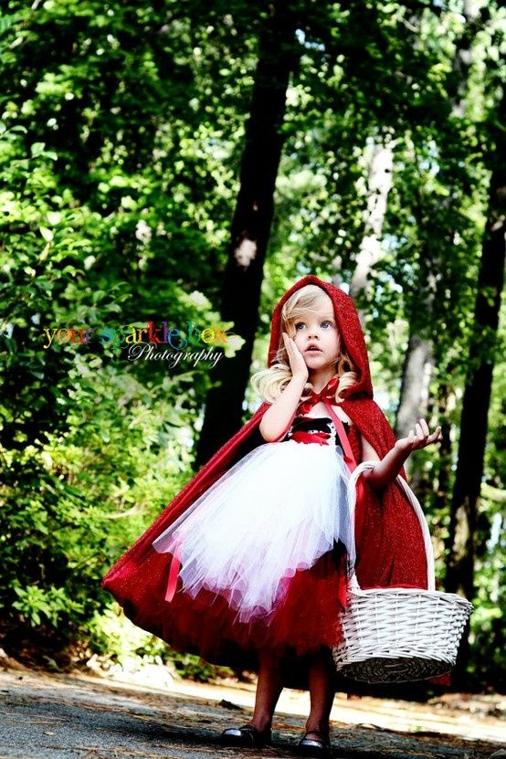 Picture Of Little Red Riding Hood Costume With A Basket