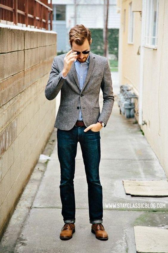 26 Chic Tweed Blazer And Jacket Looks For Men - Styleoholic