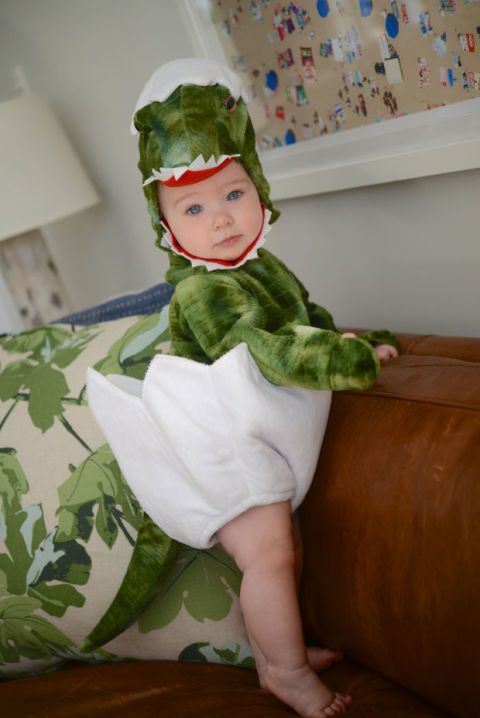dinosaur baby boy costume is too cute to scare
