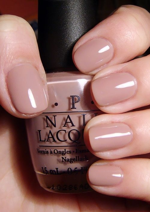 nude short nails are ideal for work