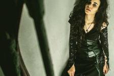 04 Bellatrix Lestrange in all-black