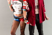 04 Harley Quinn and the Joker from Suicide Squad are the couple costume of the year