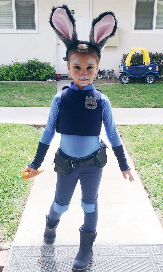 Judy Hopps costume for Zootopia fans