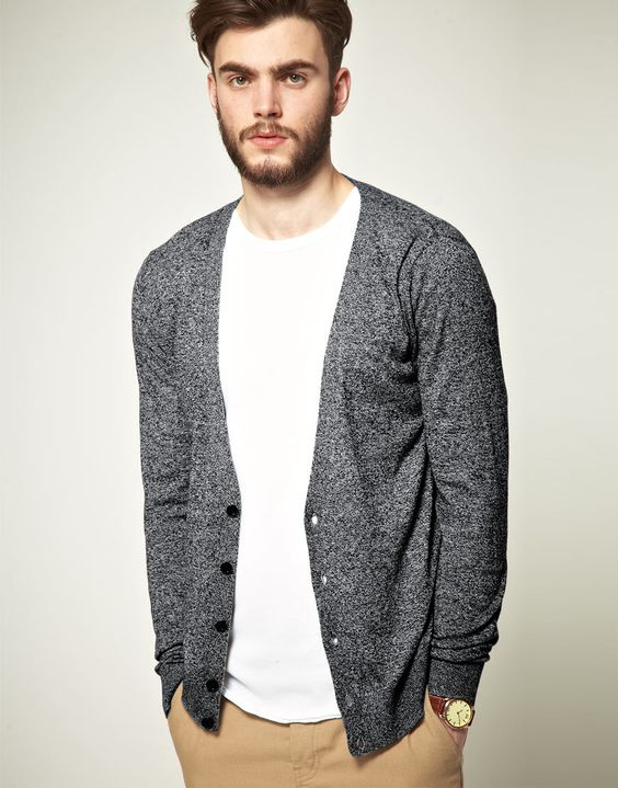 How to wear a Cardigan The Idle Man 3