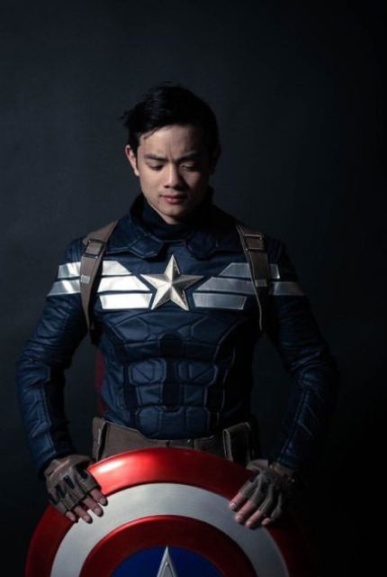 Captain America cosplay to try for Halloween