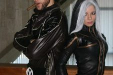 05 X-men couple costumes are sexy