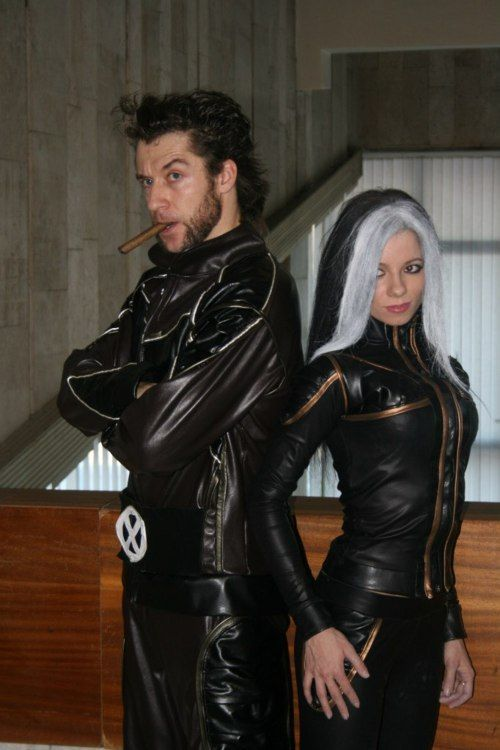 X-men couple costumes are sexy