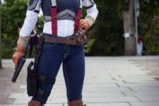 06 Captain America girl costume