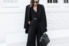 06 culotte jumpsuit, flats shoes and a jacket will fit almost any office