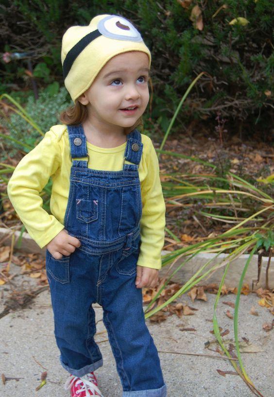 minion costume with Converse