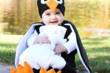 06 penguin costume for the wee ones