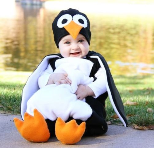 penguin costume for the wee ones