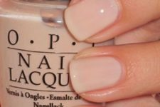 06 short nails look longer in nude and neutral shades