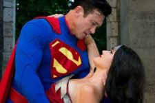 07 Superman and Wonder Woman costumes for inner super heroes