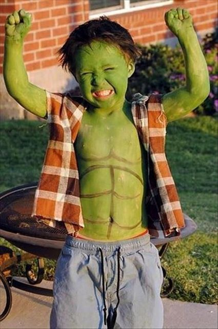 Hulk costume for superhero fans