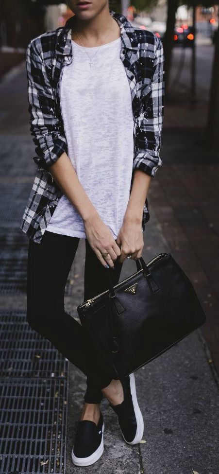 0f4ba6f4f3a9a3 27 Casual Fall Outfits With Vans For Girls - Styleoholic