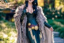 09 Lady Loki cosplay for Halloween
