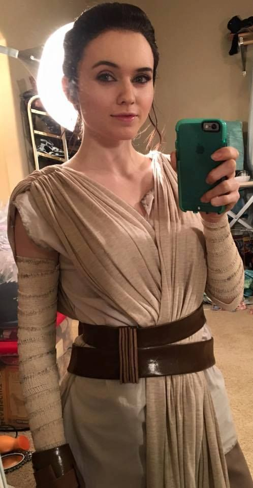 Rey from Star Wars outfit